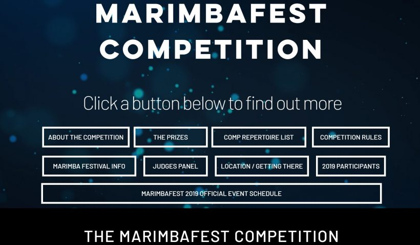 Marimbafest Competition 2019